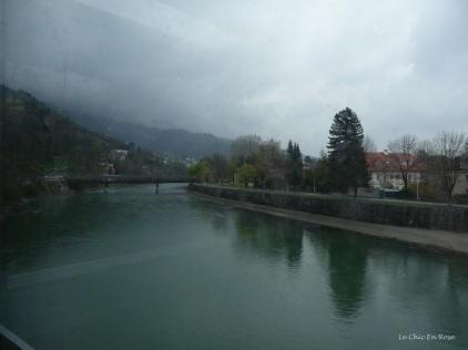 Crossing the River Inn on the Hungerburgbahn