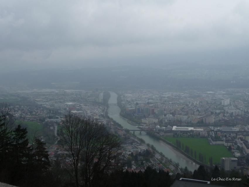 View of Innsbruck from Hungerburg