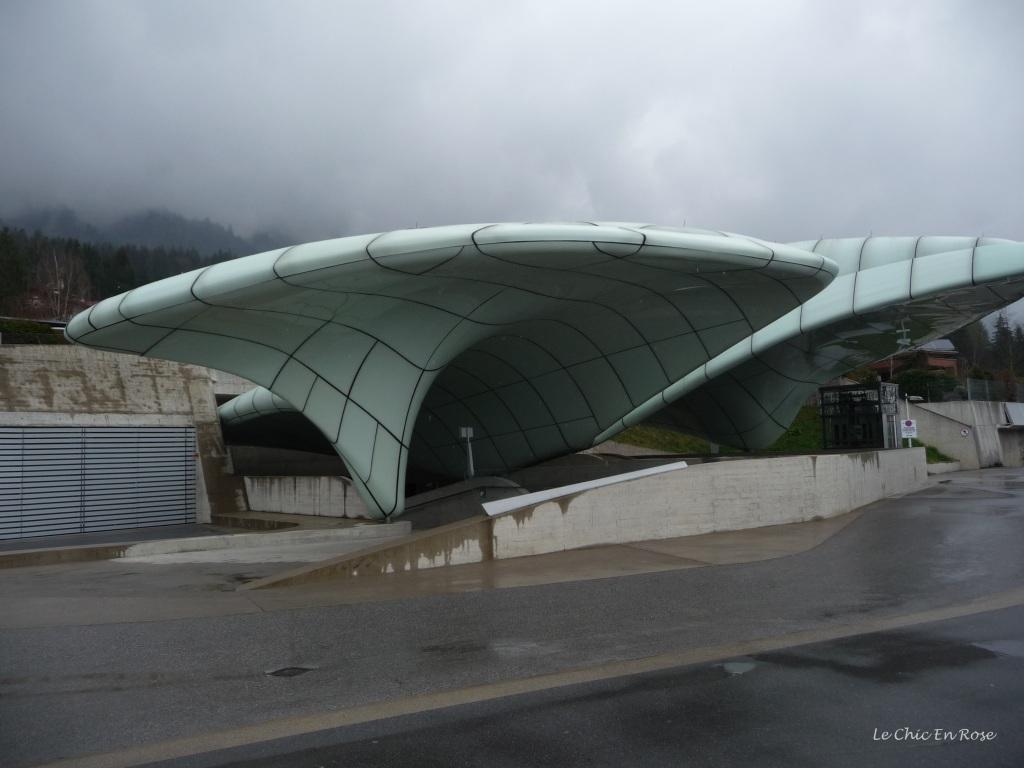 Hungerburg Funicular Station Innsbruck