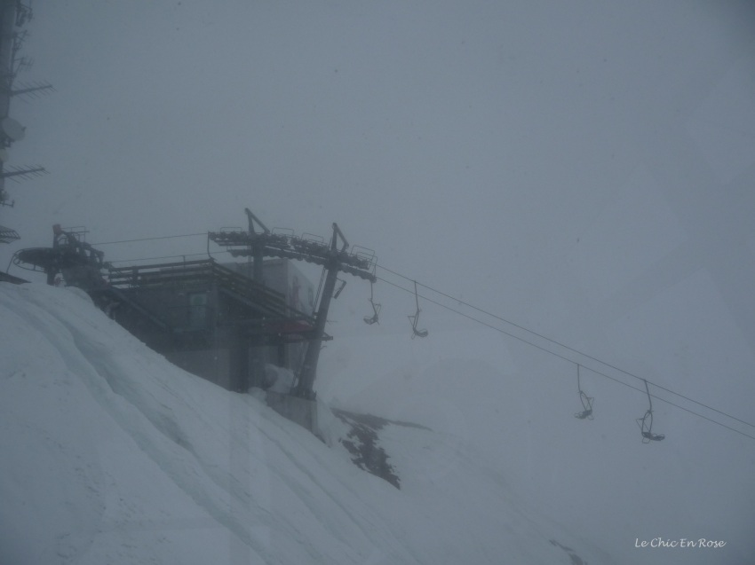 Cable car ride up to Hafelekar station on the Nordkette Innsbruck