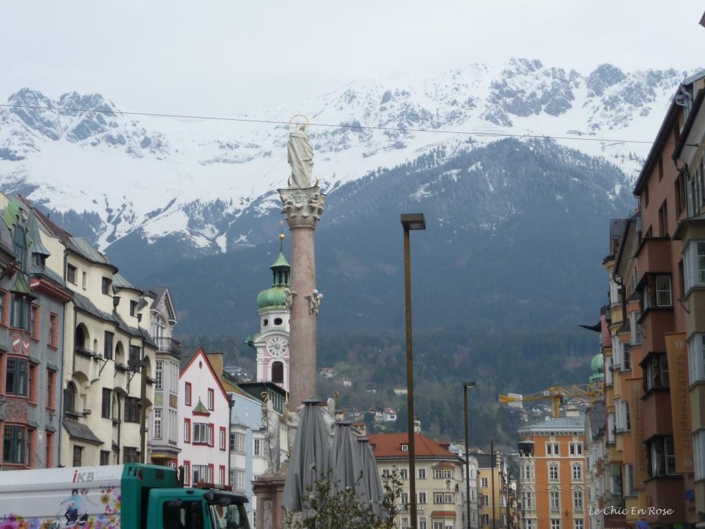 Centre Of Innsbruck Tyrol Austria