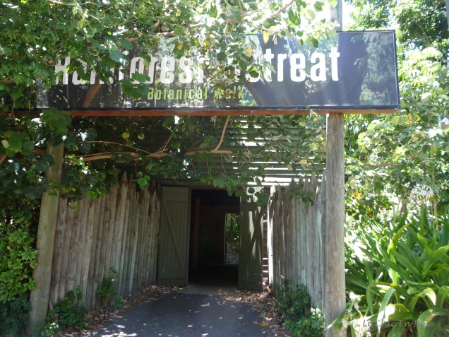 The Hay Shed is now the entrance to the Rainforest Retreat at Perth Zoo