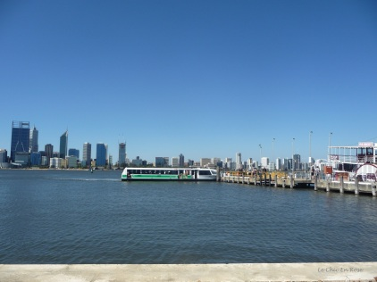 Mends Street Jetty on the Swan River
