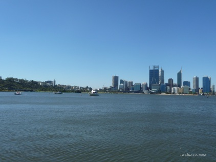 View back towards Perth City and Kings Park