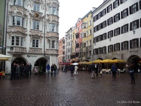 Even in the rain the Altstadt was very pretty