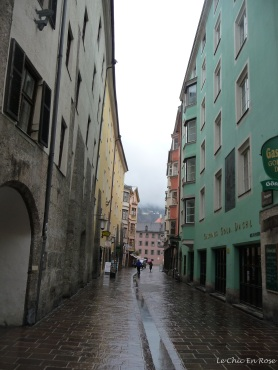 Wandering down the old streets gives you a sense of Innsbruck's past