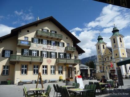 Main square St Johann In Tirol