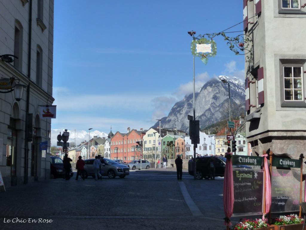 Innsbruck's Altstadt - view back towards the River Inn.