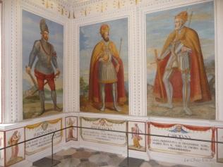 Ferdinand II is on the far left