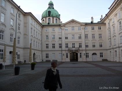 Inner courtyard of the Hofburg
