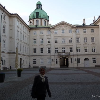 Inner courtyard of the Hofburg