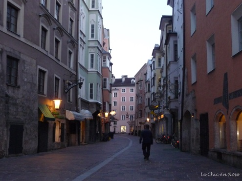 Streets at dusk