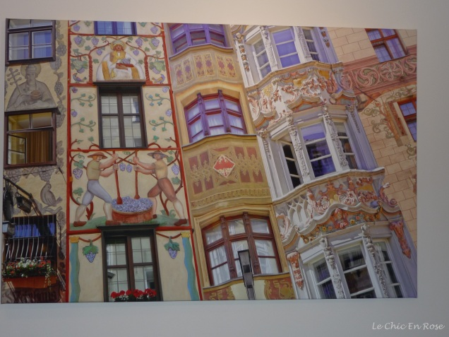 Photo on canvas at Hotel Innsbruck