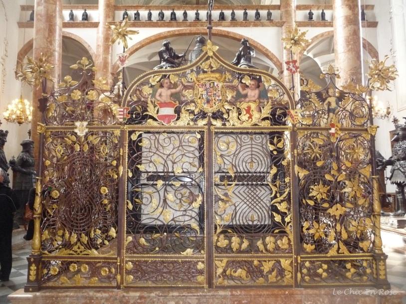 Maximilian's tomb Hofkirche Innsbruck