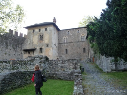 Another view of Castello Visconteo