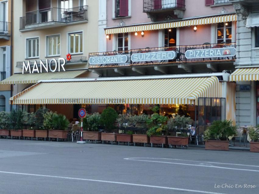 Typical pizzeria near the Piazza Grande