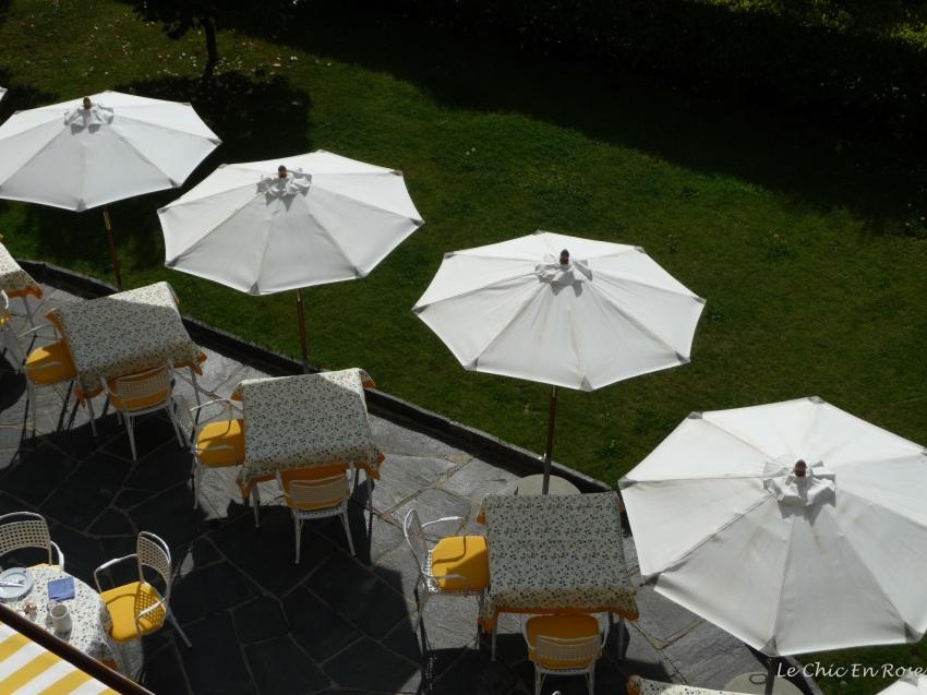 Breakfast Terrace Albergo Remorino Locarno