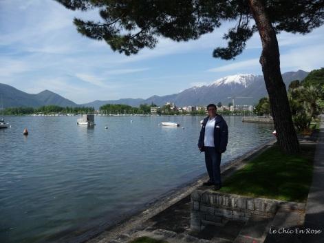 Walk along Lake Maggiore into Locarno