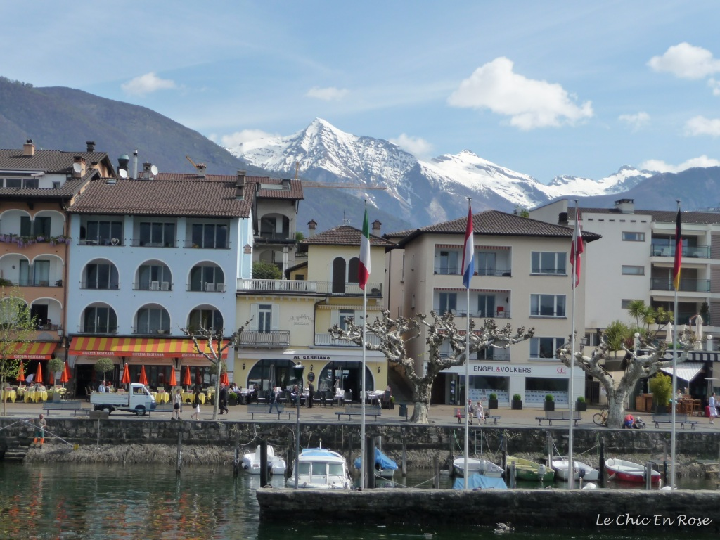 Ascona viewed from Lake Maggiore