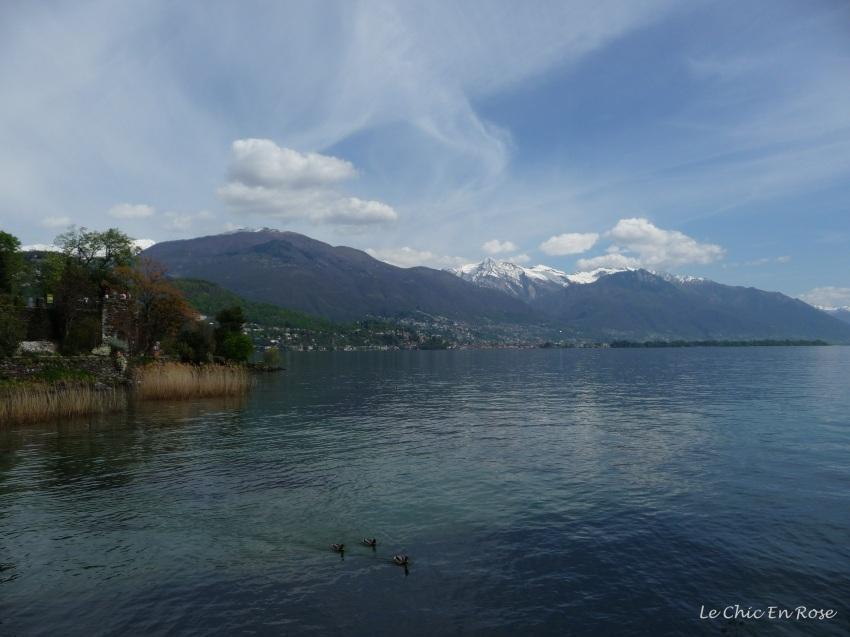 Down by the shore of Lake Maggiore on Isole di Brissago