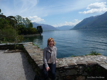 Relaxing by the side of Lake Maggiore