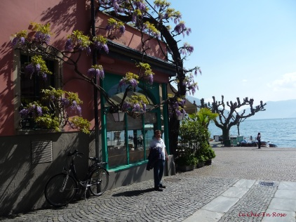 Another of the little streets that lead to and from the Old Town in Ascona