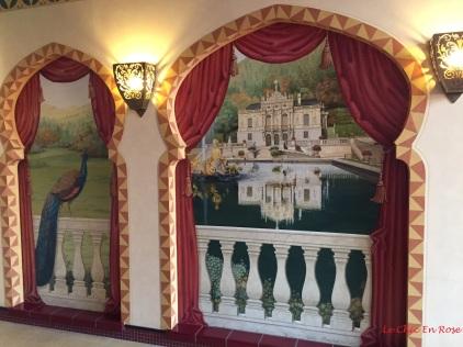 Wall paintings Maurischer Kiosk