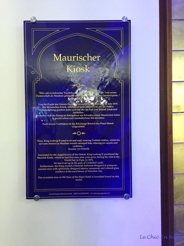 Maurischer Kiosk Platzl Hotel Munich