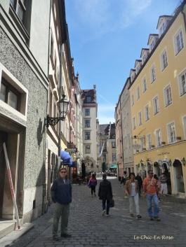 Side street in the Platzl vicinity