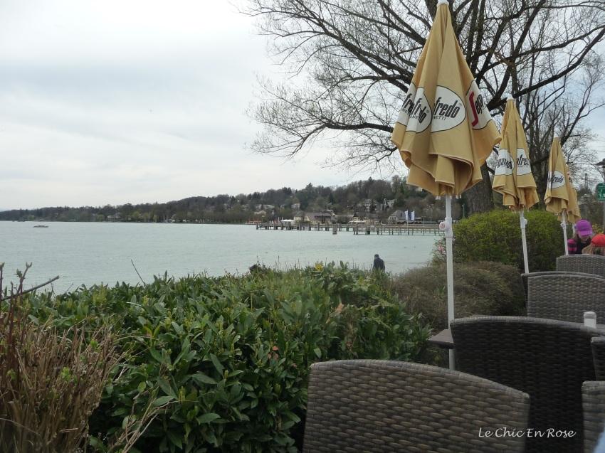 Cafe lakeside Starnberg