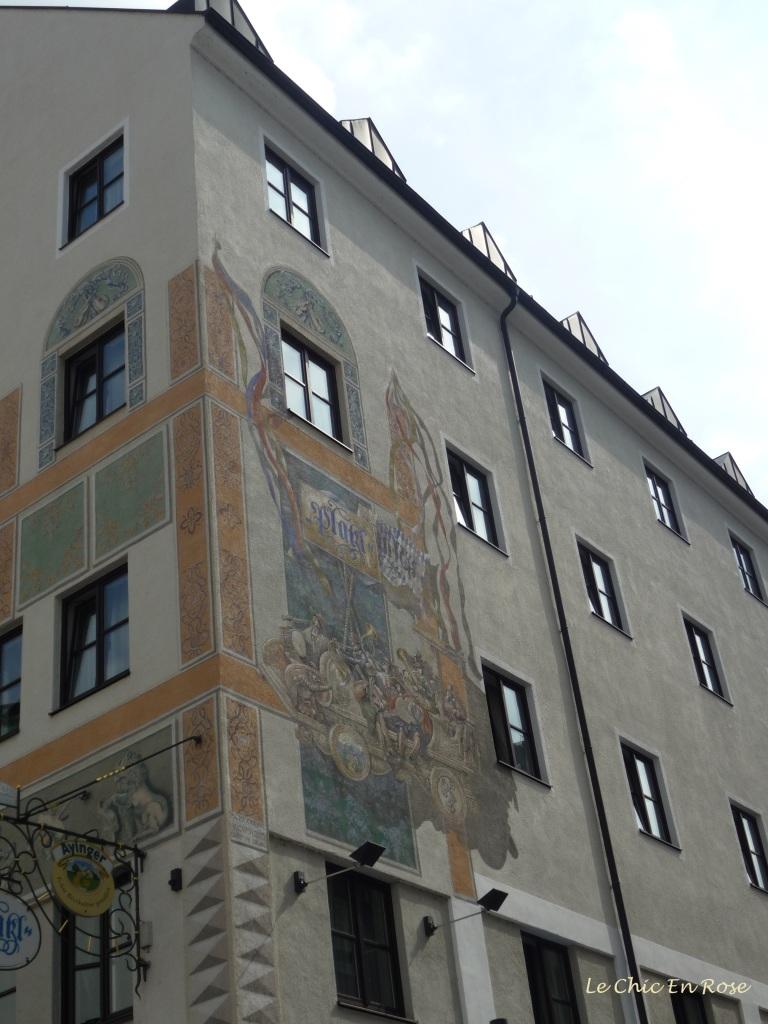 The Platzl Hotel corner of Sparkassenstrasse and Muenzstrasse