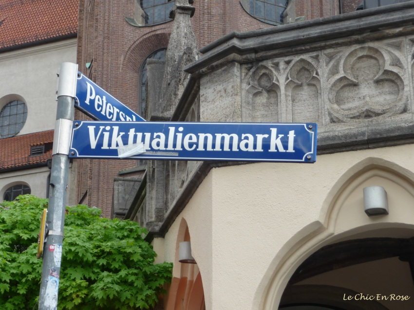 Signpost to the markets