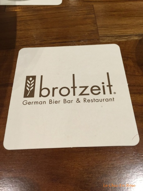 Brotzeit drink coaster