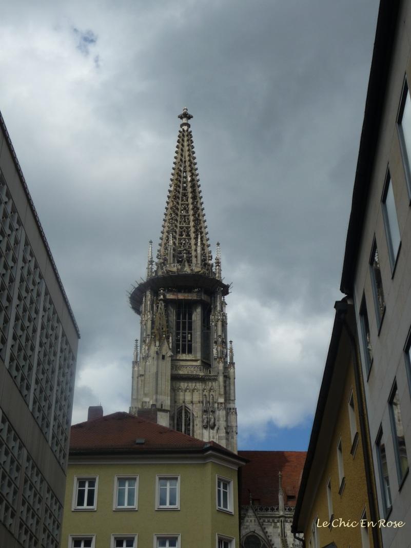 Spire of St Peter's Regensburg