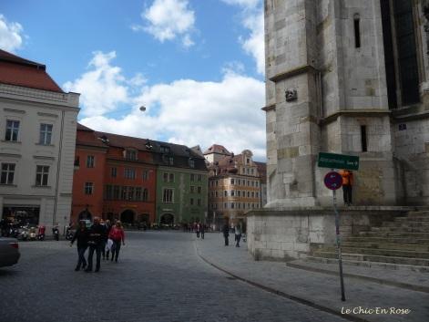 Domplatz Regensburg