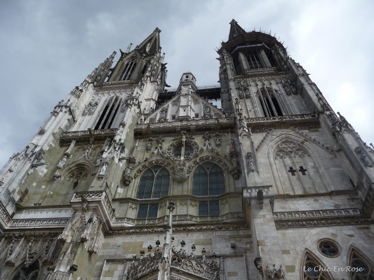 Front of St Peter's Dom Regensburg