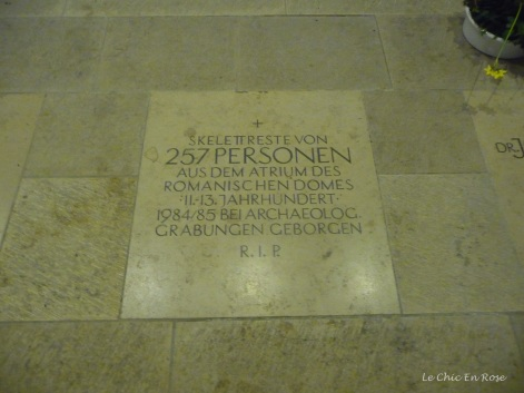 Crypt Regensburg Cathedral