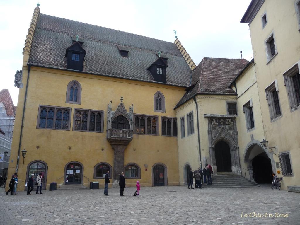 Altes Rathaus Regensburg and Rathausplatz