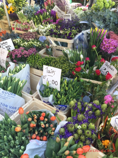 Florist stall Portobello Road Notting Hill