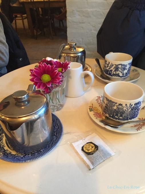 Chez Antoinette Covent Garden antique china