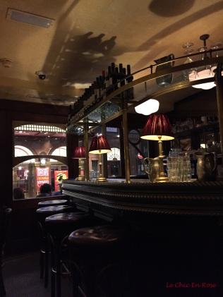 Interior of Cafe Boheme