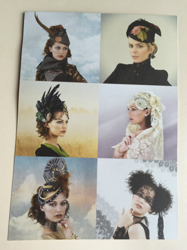 Some of the bespoke designs at Sara Tiara featured on their business flyer
