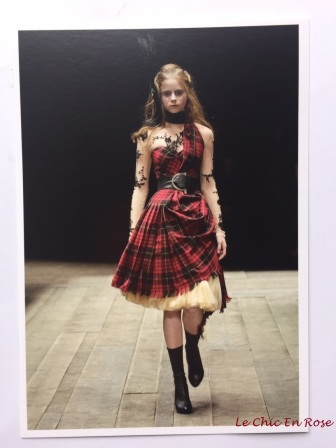 "Postcard from the V&A Museum -""Widows Of Culloden"" ""Savage Beauty"""