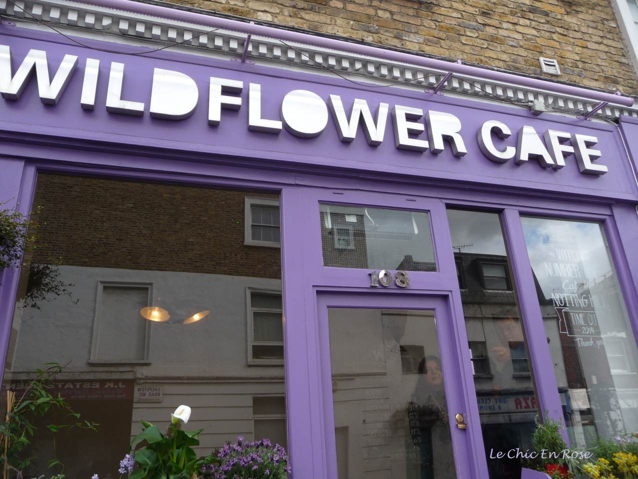 The Wildflower Cafe Notting Hill