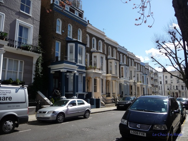 Row upon row of immaculate terraced buildings