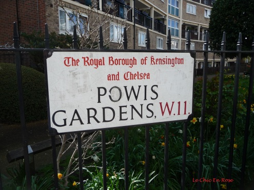 You're in the Royal Borough Of Kensington and Chelsea in this part of London