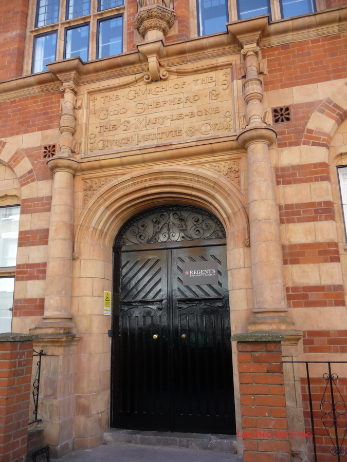 The inscription indicates that the current building was built in 1898 a while after my great great great grandparents' time.