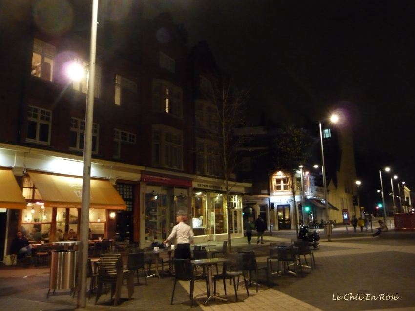 Cafes in Exhibition Road South Kensington