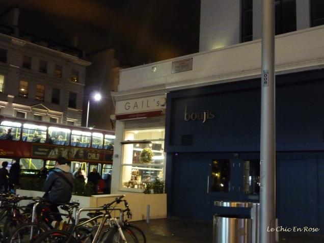 Thurloe Street at night