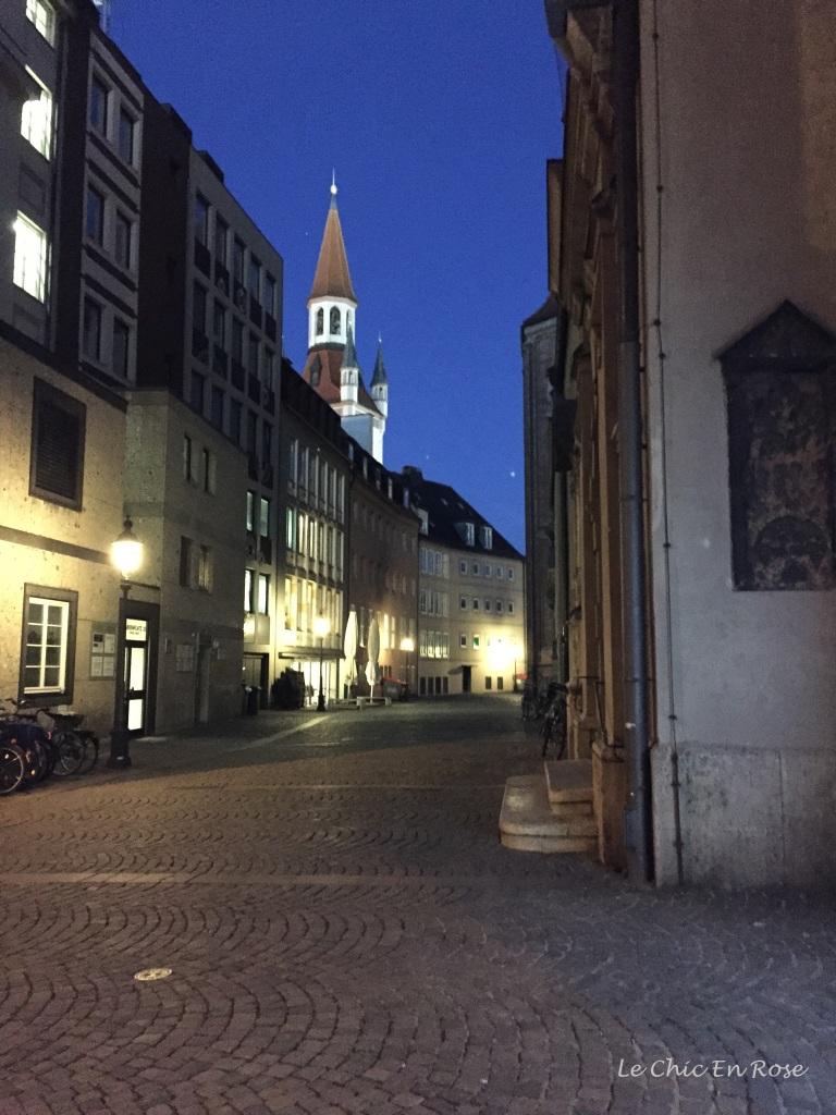 Munich Altstadt by night